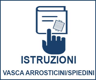 Istruzioni montaggio vasca arrosticini/spiedini